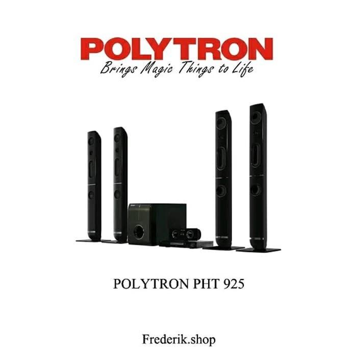 harga Polytron home teather pht 925 ch 5.1 usb dvd player - 2 mic input Tokopedia.com