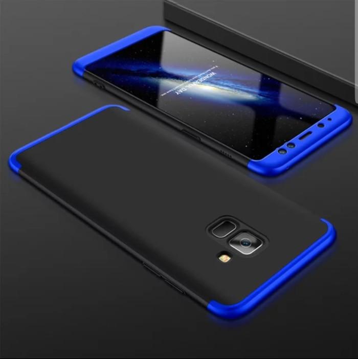 Samsung Galaxy A6 2018 Hard Case Armor 360 GKK 3in1 Full Cover Casing