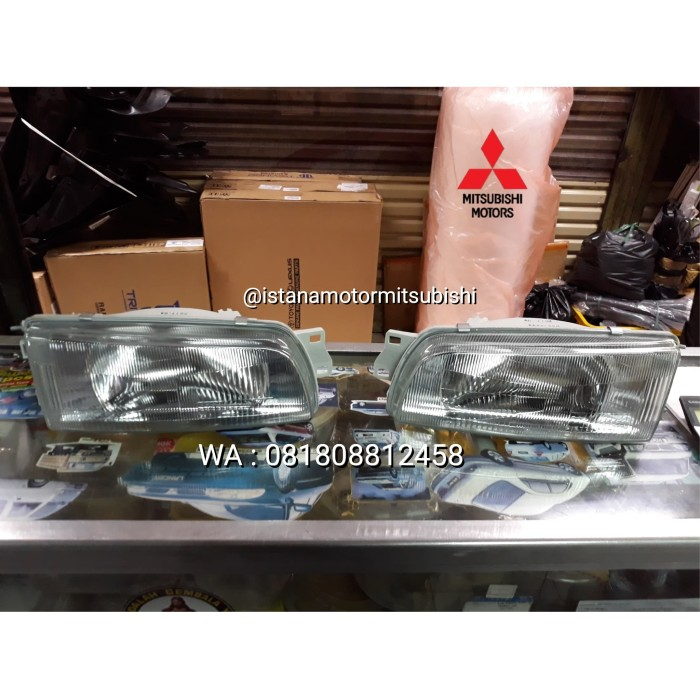 harga Headlamp lampu depan mitsubishi lancer evo 3 cb head lamp Tokopedia.com