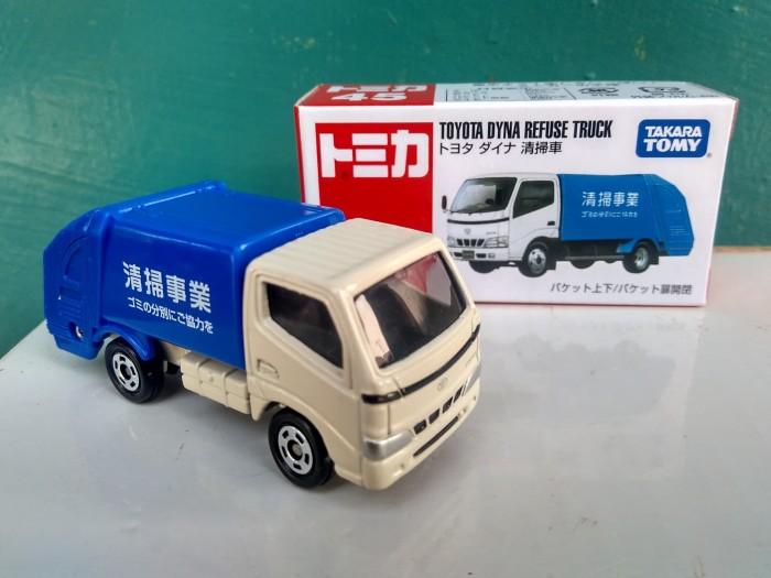 harga Tomica no 45 toyota dyna refuse truck diecast miniatur mobil murah Tokopedia.com