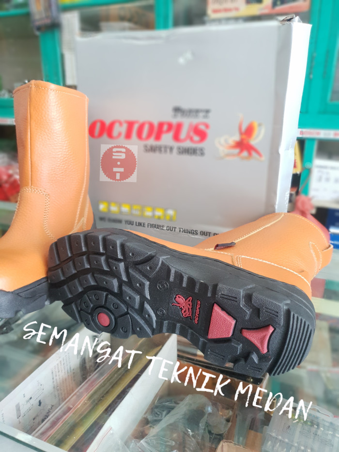 OX808 OCTOPUS SEPATU SAFETY INDUSTRIAL SHOES BOOT BOOTS OX 808 OCTOPUS .