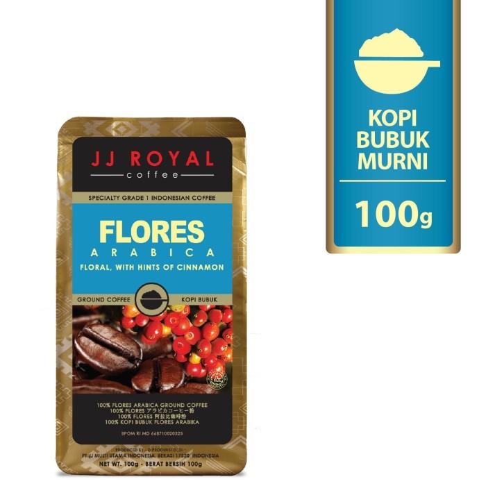 coffee/kopi jj royal flores arabica ground bag 100g