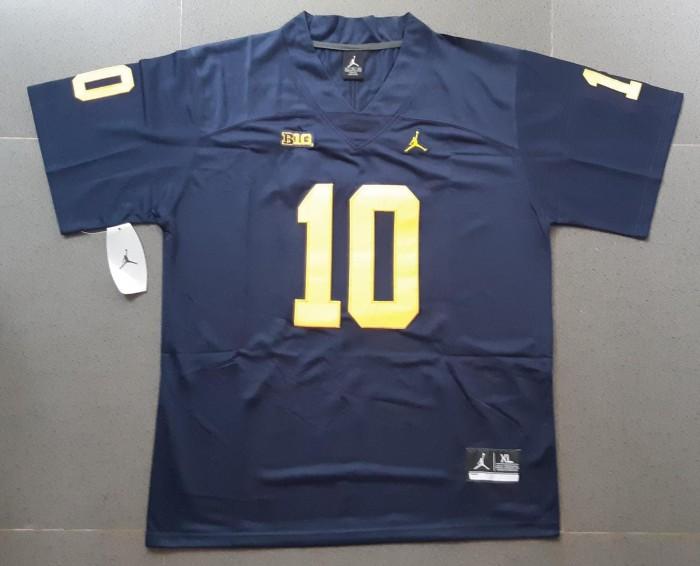 Jual Jersey NFL Tom Brady College Michigan BNWT - Kota Denpasar - Kris  Collectors | Tokopedia
