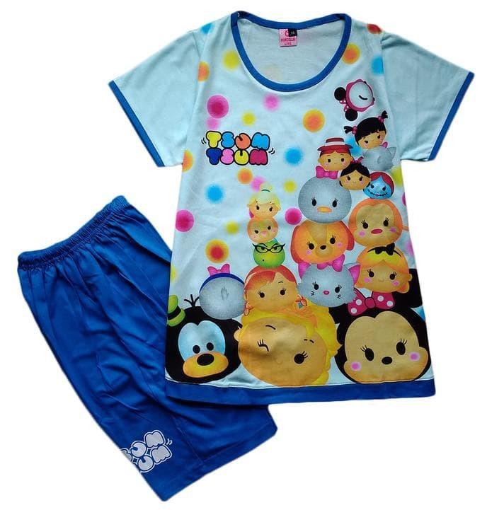 Promo Baju Kaos Atasan T-Shirt Setelan Anak Murah Tsum Tsum Ts112017