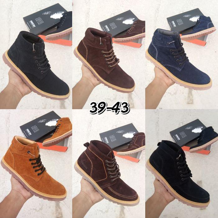 Jual Sepatu Geox Respira Boots Model Terbaru - DLShoes  95913d9f2e
