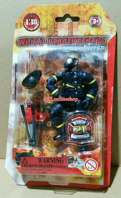 Jual Action Figure World Peacekeepers Firefighter Artikulasi Tentara Perang Jakarta Pusat 13 Line Shop