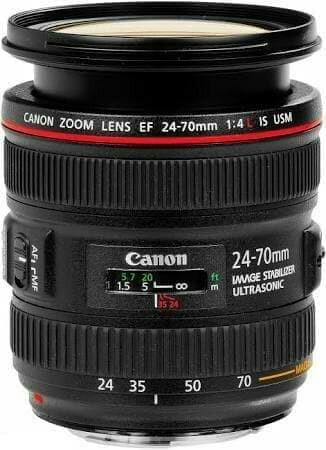 Foto Produk Lensa canon EF-24-70mm f/4L USM ultrasonic - Hitam dari X ONE CAM