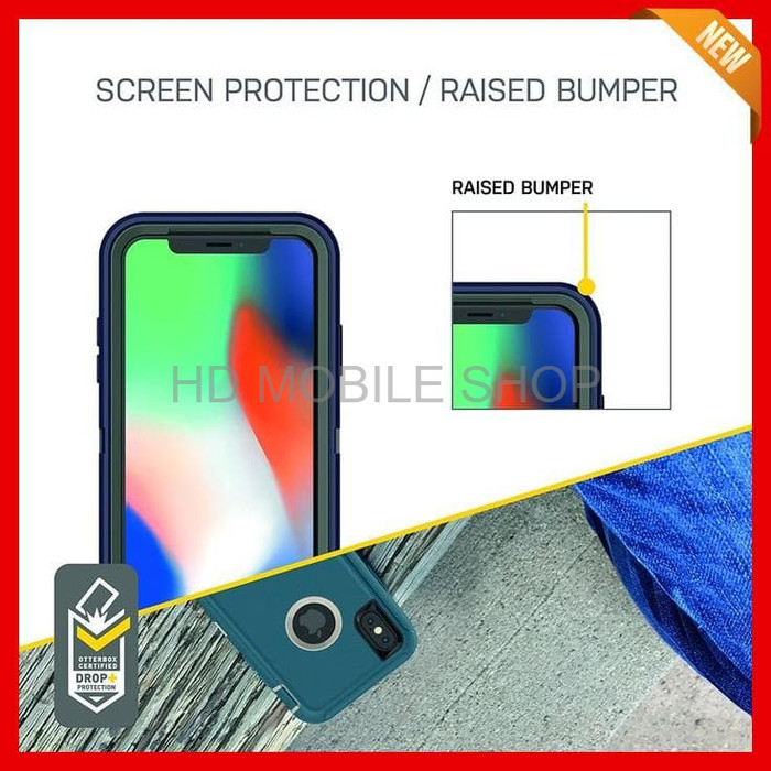 harga Otterbox iphone x case defender series black aksesoris handphone Tokopedia.com
