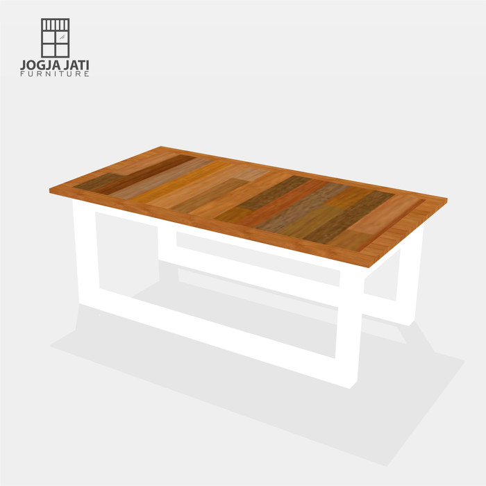 Jual Meja Ruang Tamu Minimalis Hitam Kab Bantul Jogja Jati Furniture Tokopedia