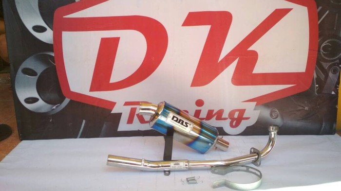 harga Knalpot Racing Honda Revo Dbs Oval Fullsystem High Peforma Blanja.com