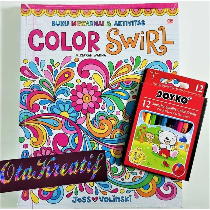 Jual Pusaran Warna Color Swirl Buku Mewarnai Berkualitas Gramedia Jakarta Selatan Verdeco Tokopedia