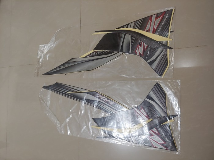 harga Stiker bodi & lis body & striping jupiter mx 2012 hitam full Tokopedia.com