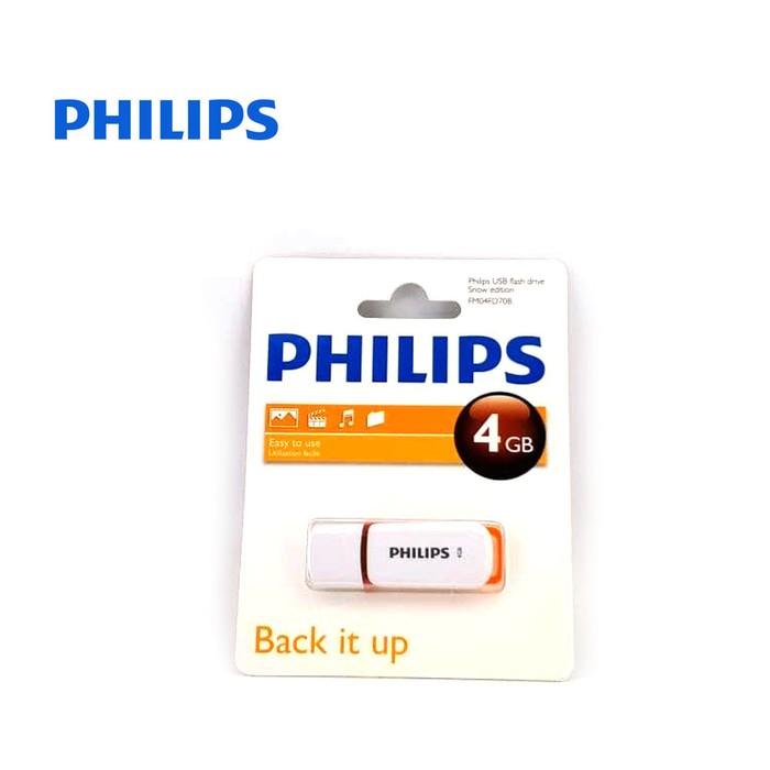 Flashdisk Philips Snow Edition Cover 4GB XTT6028 High Quality