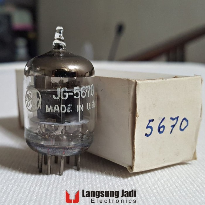 harga Jg-5670 ge twin triode preamp tube 5670 2c51 396a cv4013 tabung audio Tokopedia.com