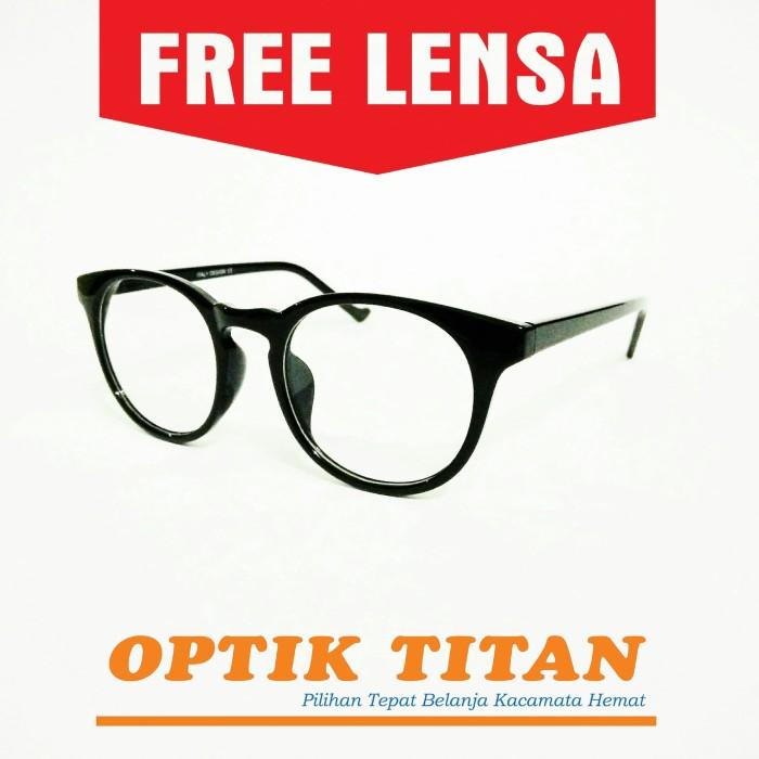 Jual Frame Kacamata Minus Baca Pria Wanita ITALY DESIGN 0046 Hitam ... 3580c8ca33
