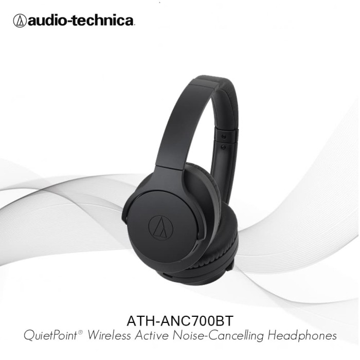 Audio Technica Ath Anc700bt Wireles Noise Cancelling Headphones Black - Audio - Blanja.com