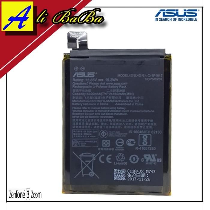 harga Baterai handphone asus zenfone 3 zoom 5.5 inch ze553kl c11p1612 batre Tokopedia.com
