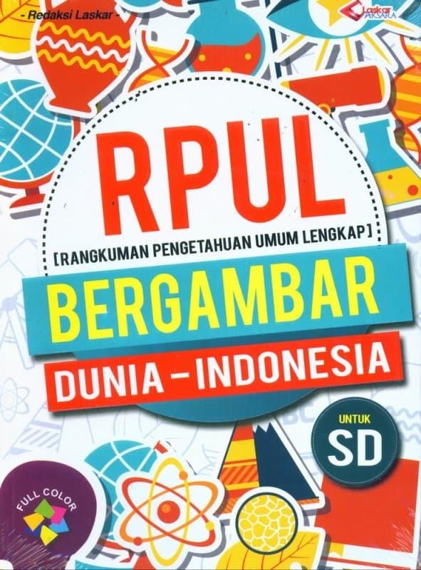Jual Rpul Bergambar Dunia Indonesia Untuk Sd Tk Buku Jendela
