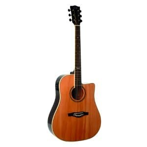 Gitar Akustik Elektrik Eko NTX D CW EQ Natural Murah Di Limited