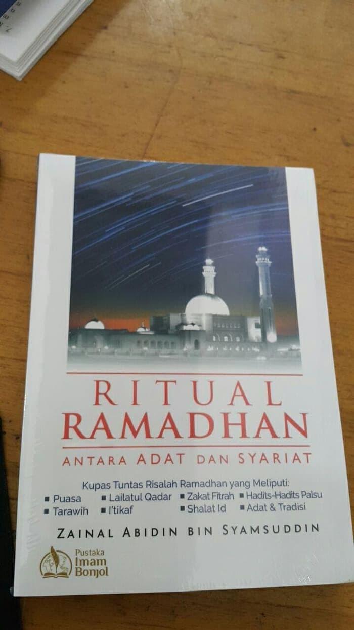 Jual Buku Ritual Ramadhan Antara Adat Dan Syariat Kota Metro Toko Buku Sunnah Line
