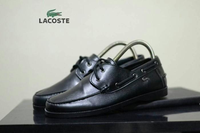 Jual sepatu lacoste boots pria lous casual formal kerja kantor ... b27507a237