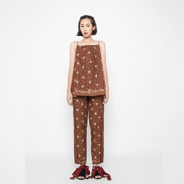 harga Oemah etnik brown nusa & wakatobi batik set - cokelat tua s Tokopedia.com