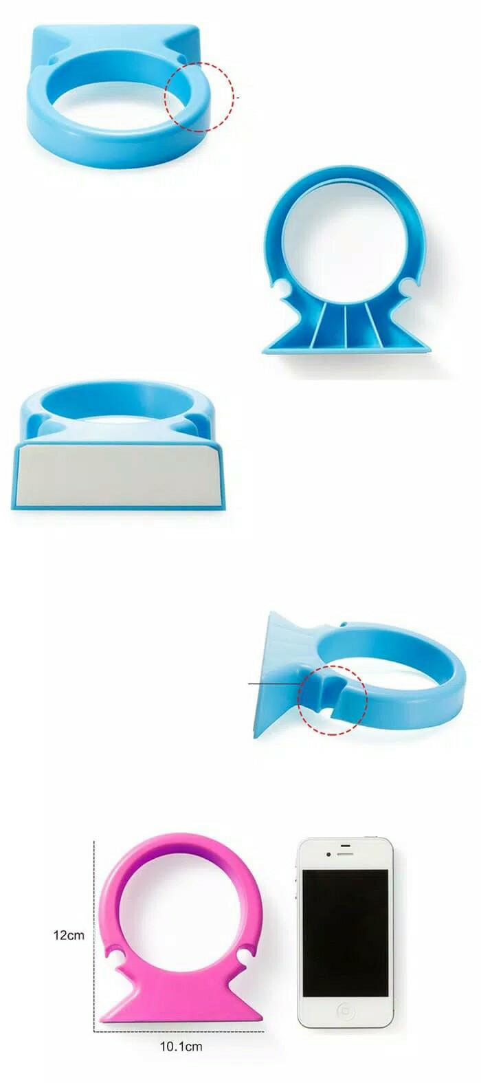 Jual Beli Hair Dryer Rack Holder Gantungan Rak Tempat Pengering Rambut Aqua