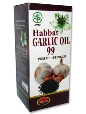 HABBAT GARLIC OIL 99 ISI 200 KAPSUL