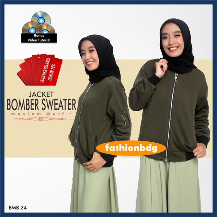Jual Jaket Bomber Wanita Pilot Polos Original - Toko Jaket  9a27ac73b5