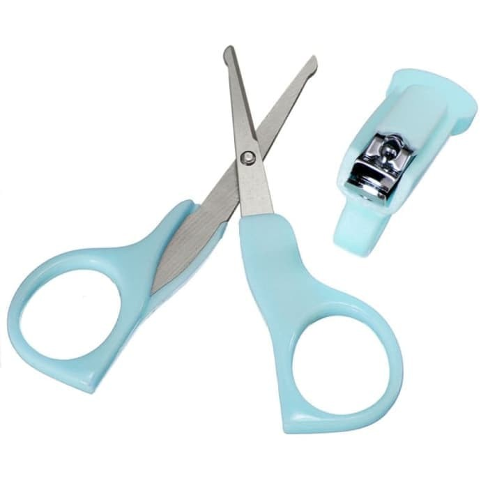 New Set gunting kuku bayi POPO - Nail clipper gunting kuku bayi POPO
