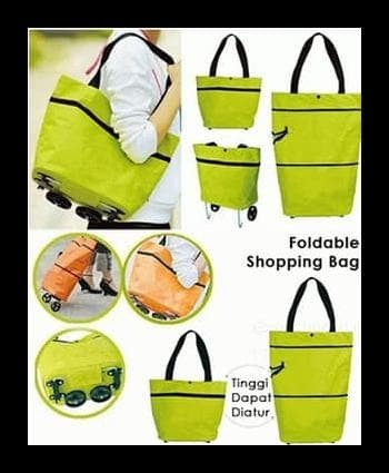 Jual Shopping Trolley Bag  U002F Tas Belanja Lipat - Crewas Store ... bff6cc7059