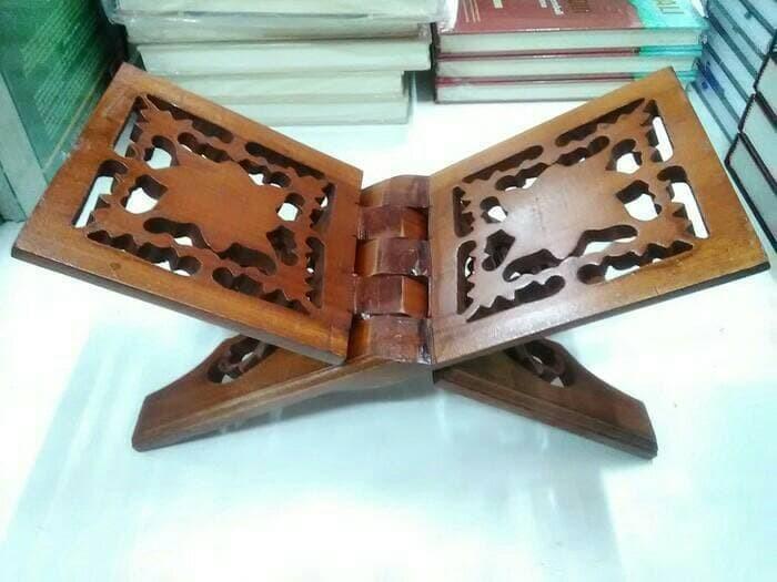 harga Belajar jati muslim ukir peci baju kayu kursi rak atasan meja kayu tv Tokopedia.com