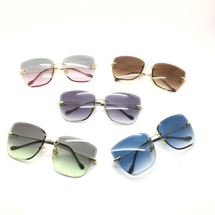 harga Kacamata wanita chanel syahrini super fullset Tokopedia.com