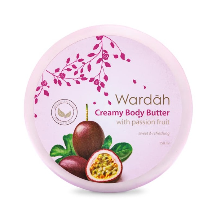 Wardah Creamy Body Butter Passion Fruit 150ml
