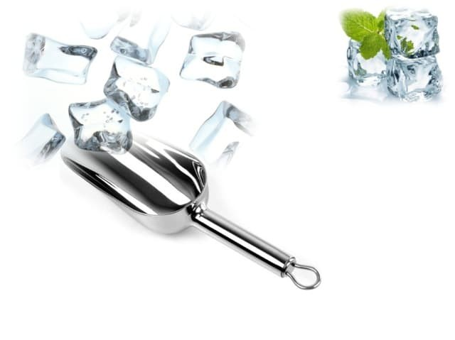 harga Serok sendok es serut ice shovel scoop stainless steel cube love cream Tokopedia.com