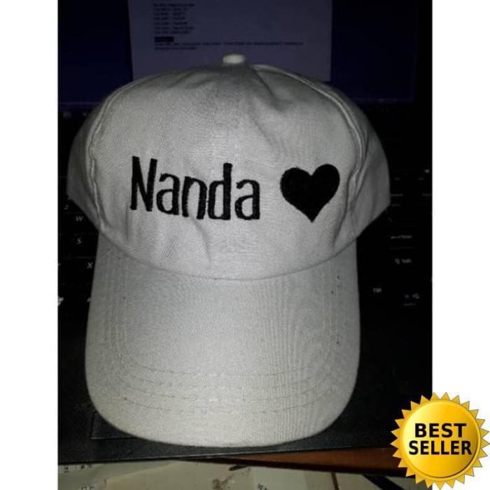 Jual Topi bordir nama n angka suka2 tulisan dan nomor suka2 topi ... 3b093dd4f1