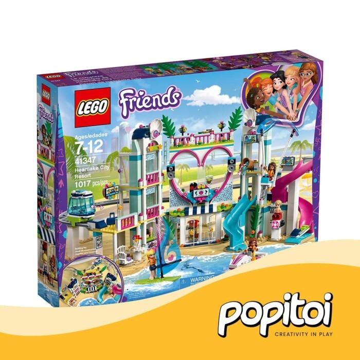 Jual Lego Friends 41347 Heartlake City Resort Bad Box Popitoi