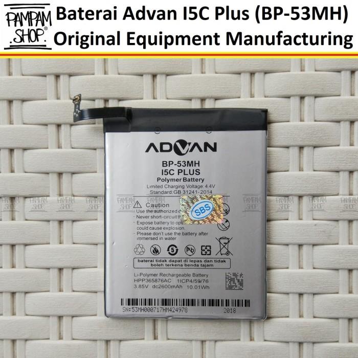 harga Baterai handphone advan i5c+ plus bp-53mh bp53mh original batre i5c + Tokopedia.com