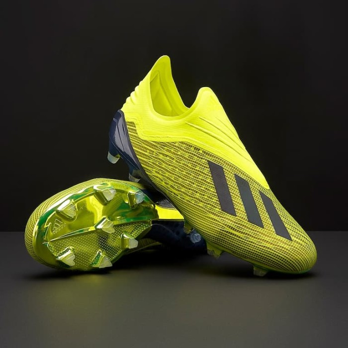 Jual Sepatu Bola Adidas Original X 18 1 Fg Solar Yellow Db2251