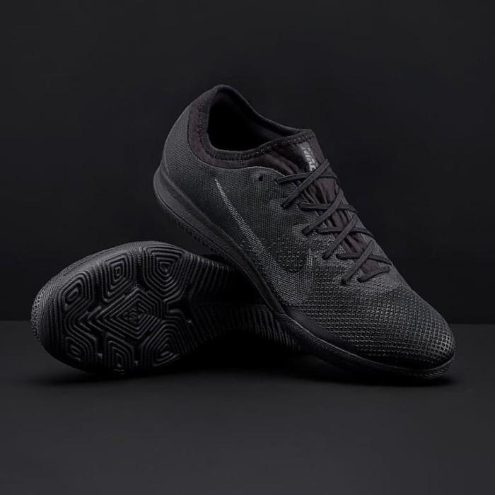 Jual Sepatu Futsal Nike Original Mercurial Vapor Xii Pro Ic Black