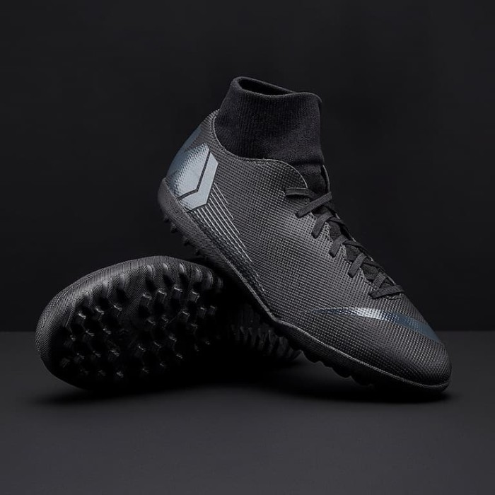 910f8412993 Sepatu futsal Nike ori Mercurial Superfly VI Club TF black AH7372001