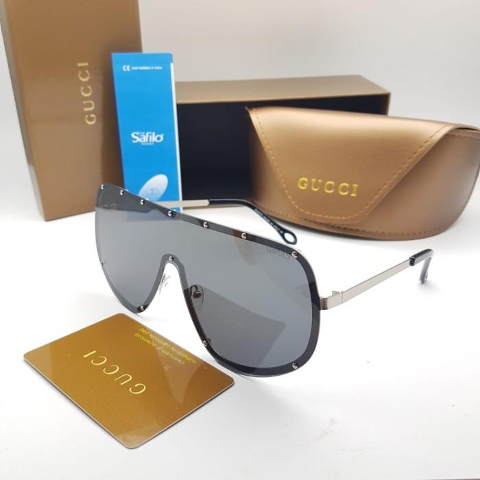 ... Kacamata Wanita   Gucci Hk523 + Lensa Anti Uv + Box Resleting - Onmodel  Silver ... 70491f5fca