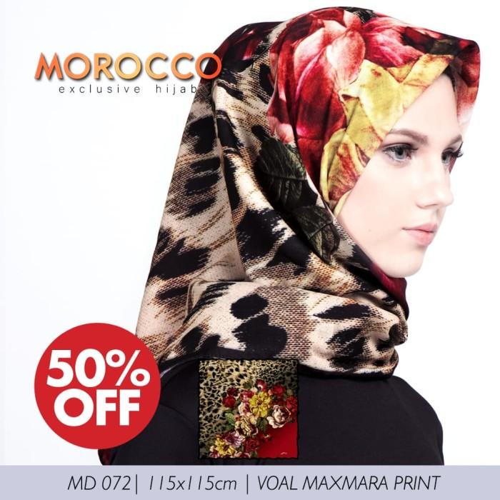 Voal maxmara printing exclusive | scarf motif original morocco hijab