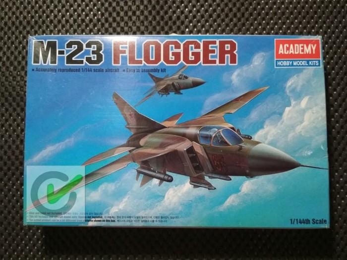 harga Model kit / mokit academy - pesawat mig 23 flogger Tokopedia.com