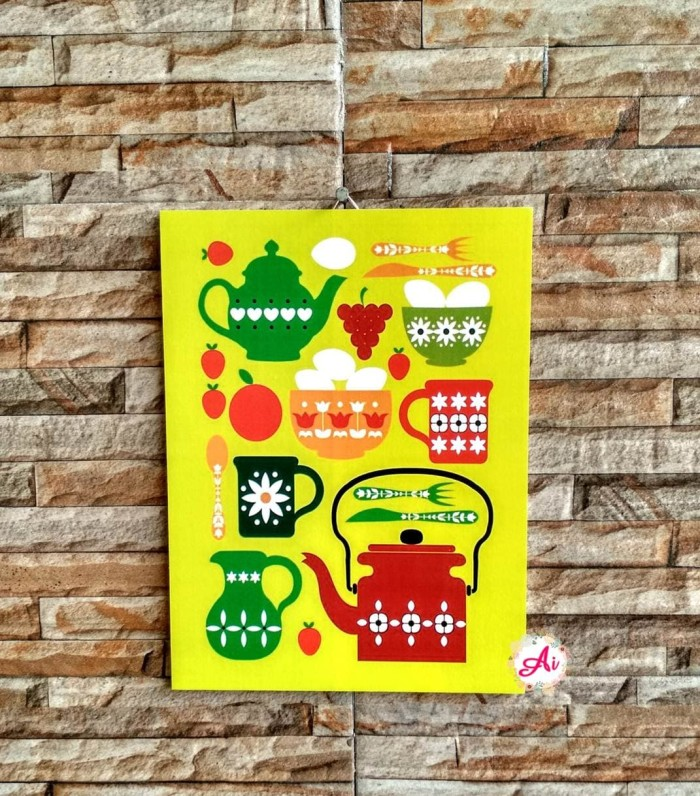 Foto Produk Wall Decor l Hiasan Dekorasi Rumah Shabby: Kitchen 11 dari ai_decor
