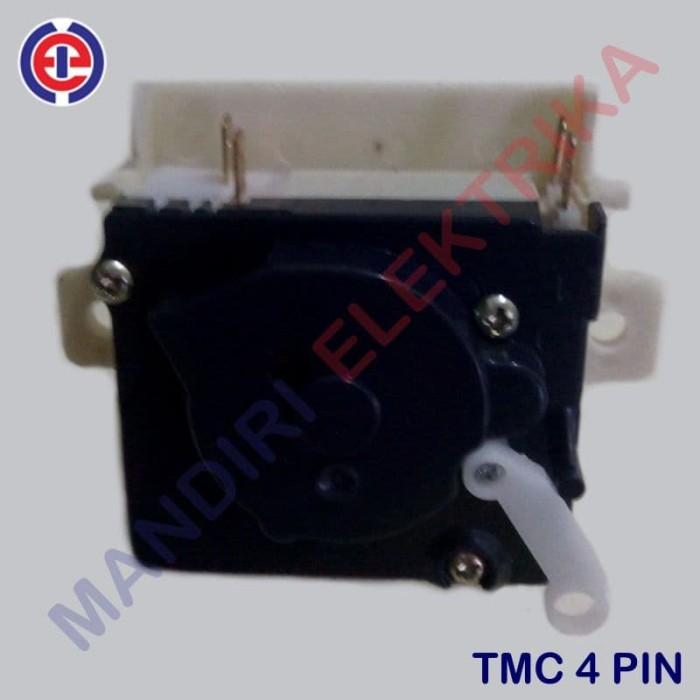harga Timer socket 4 pin mesin cuci sharp sanyo panasonic - timer wash Tokopedia.com