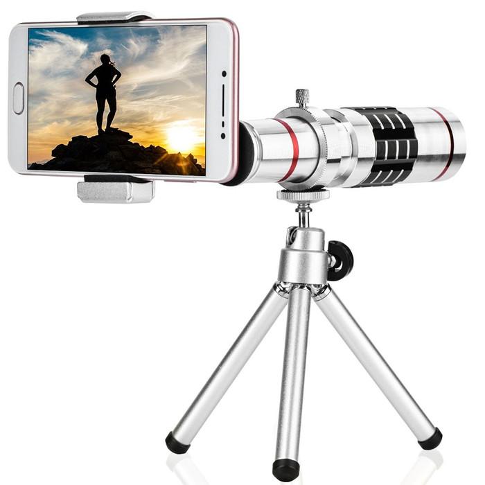 harga Lensa kit camera 18x optical zoom with mini tripod (universal) Tokopedia.com