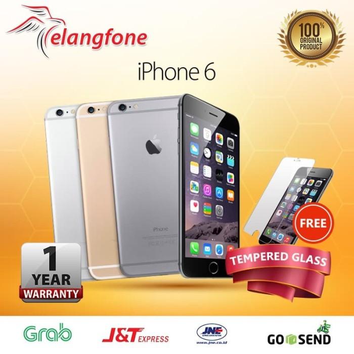 Jual APPLE IPHONE 6 GREY 64GB GSM GARANSI 1 TAHUN FREE TEMPERED ... 9d52cbd652