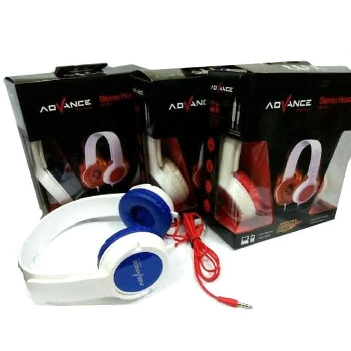 Headset Stereo Super Bass Advance MH-003 XTT6180 High Quality