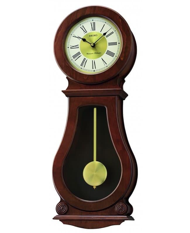 Jual Jam Dinding Seiko QXH071B - Dual Chimes with Pendulum - Time ... 1579e276a9